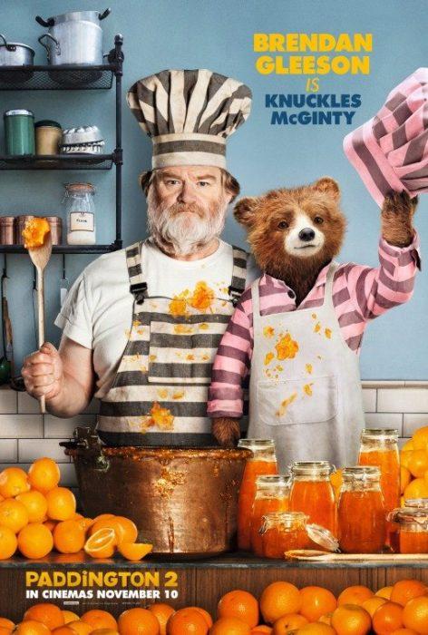 Brendan Gleeson protagonista del nuovo poster di Paddington 2