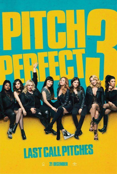 Tutte le protagonista in posa nel nuovo poster di Pitch Perfect 3