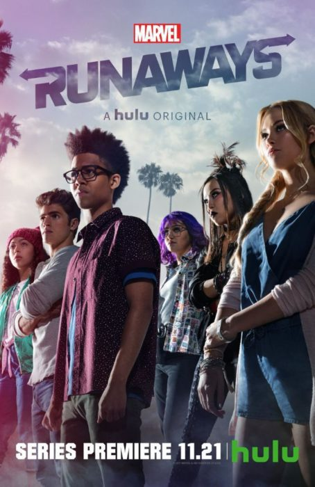 Giovani eroi in posa nei due nuovi poster di Marvel's Runaways