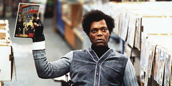 Samuel L. Jackson sul set di Glass, il sequel di Split e Unbreakable