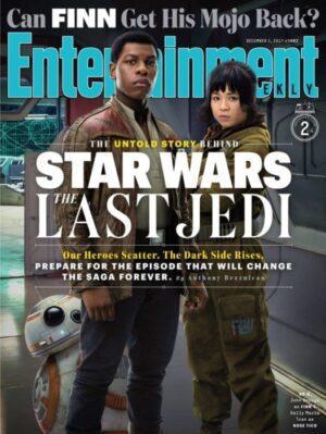 Star Wars: Gli Ultimi Jedi - Copertine e foto da Entertainment Weekly