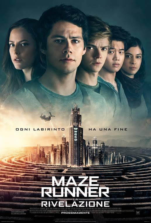 maze runner 3 poster ita