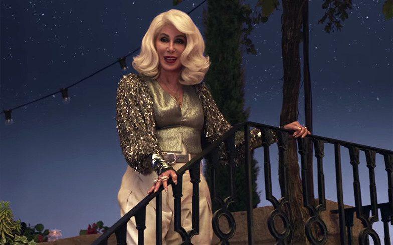 Mamma Mia - Ci Risiamo, breve video di Cher sulle note di Fernando