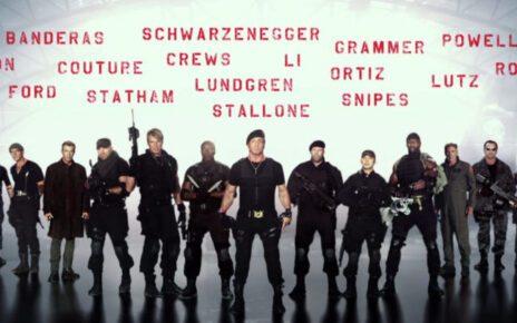 I Mercenari 3 (foto cast)