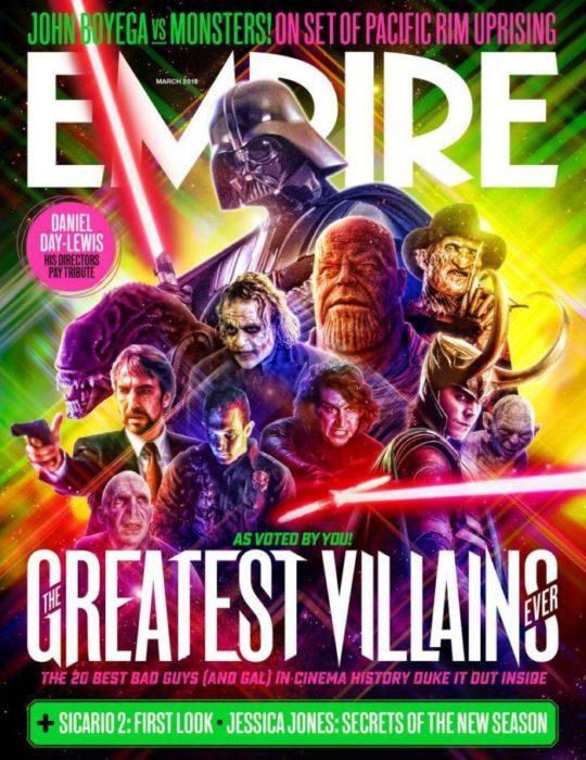 Empire Magazine (cover villain)