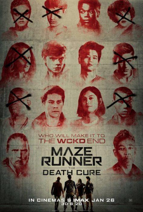 Maze Runner - La Rivelazione (poster)