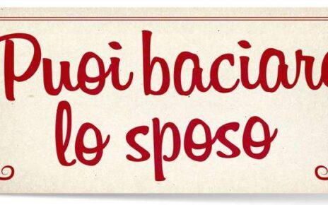 Il poster ufficiale di Puoi Baciare lo Sposo, la nuova commedia di Alessandro Genovesi