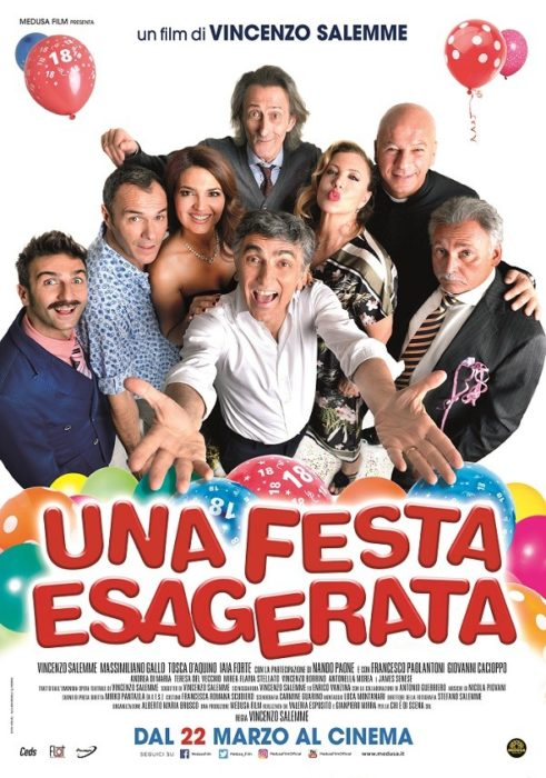 Una Festa Esagerata (poster)