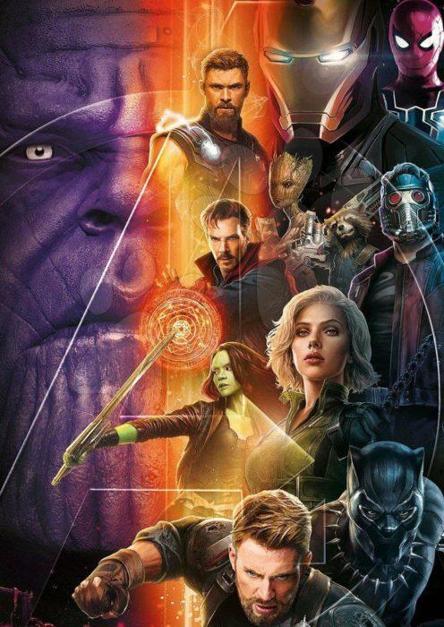 Avengers: Infinity War (artwork)