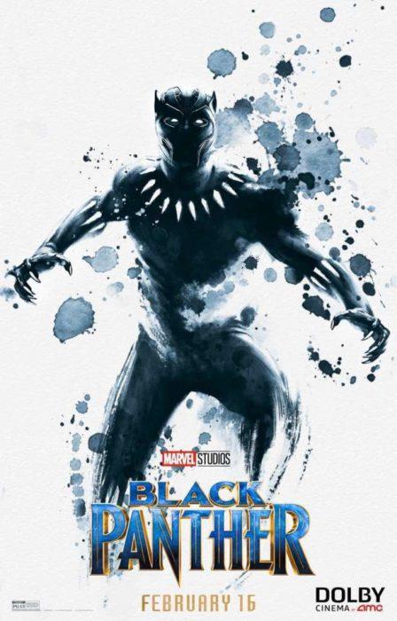 Black Panther (poster AMC)
