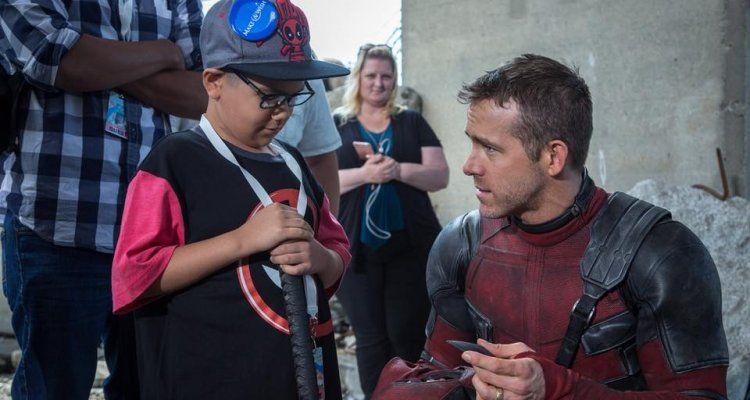 Deadpool 2 (foto dal set)