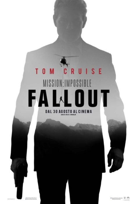 Mission: Impossible - Fallout (poster italiano)