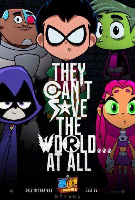 Teen Titans GO - Il Film (poster)