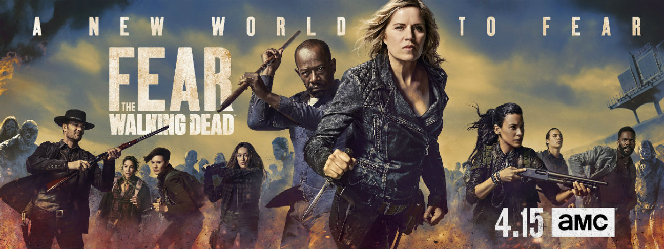 Fear the Walking Dead - Banner e poster della quarta stagione