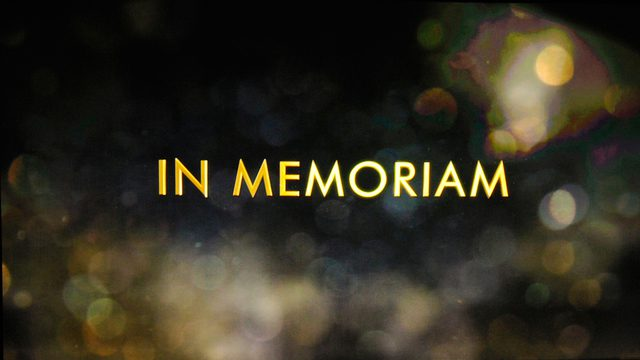 Oscar 2018 - L'intenso video dell'In Memoriam, ma l'Academy ne dimentica qualcuno