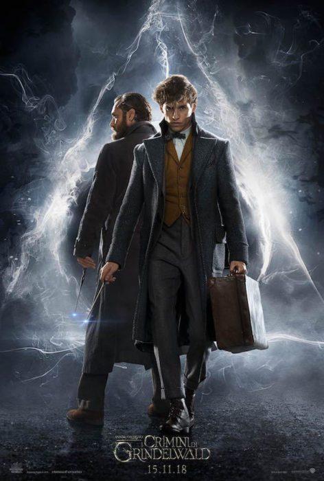 Animali Fantastici: I Crimini di Grindelwald (poster)