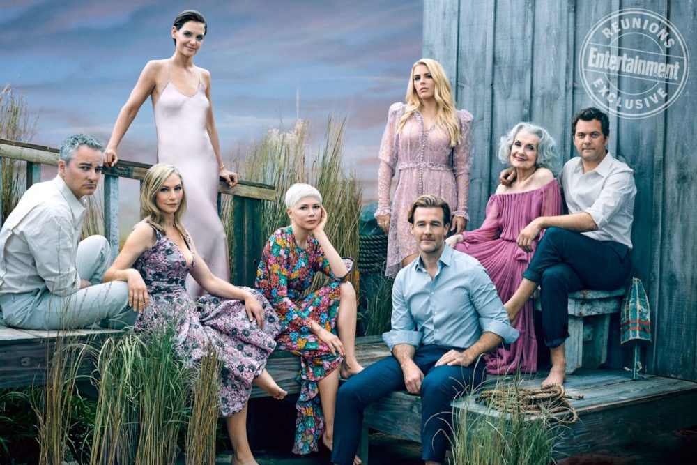 dawson creek men Dawson's creek is a nostalgic revisit to the 90's and reminiscent of a time when life  my point girls don't only find themselves through the men in their .