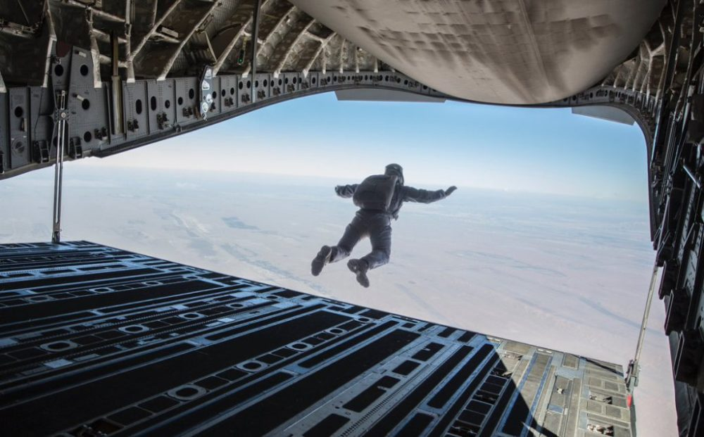 Mission Impossible Fallout stunt