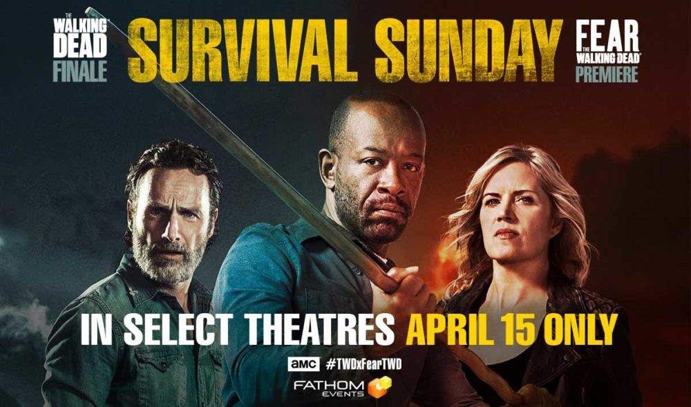Survival Sunday TWD