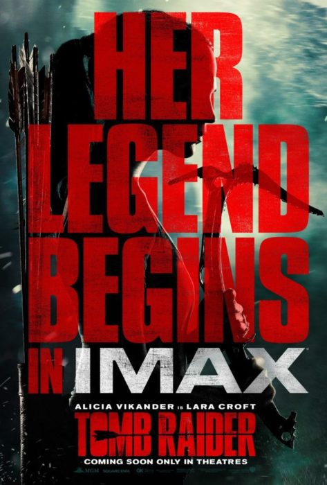 Tomb Raider poster IMAX