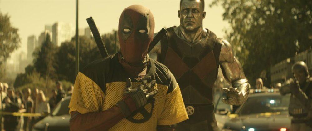 Il Mercenario Chiaccherone con Colosso nella nuova foto di Deadpool 2