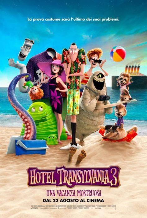 Il manifesto ufficiale italiano di Hotel Transylvania 3
