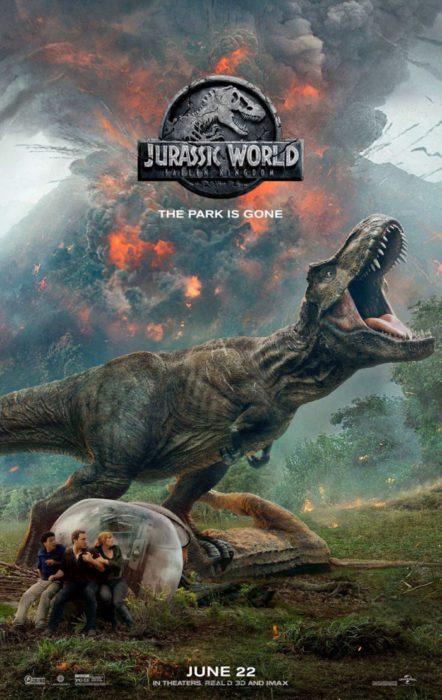 jurassic world il regno distrutto poster