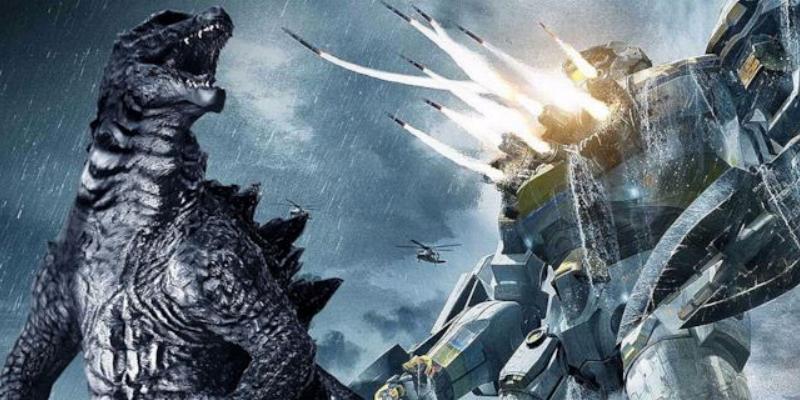 Godzilla e i Jaegers di Pacific Rim insieme grazie ad Awesome Japanese Poster