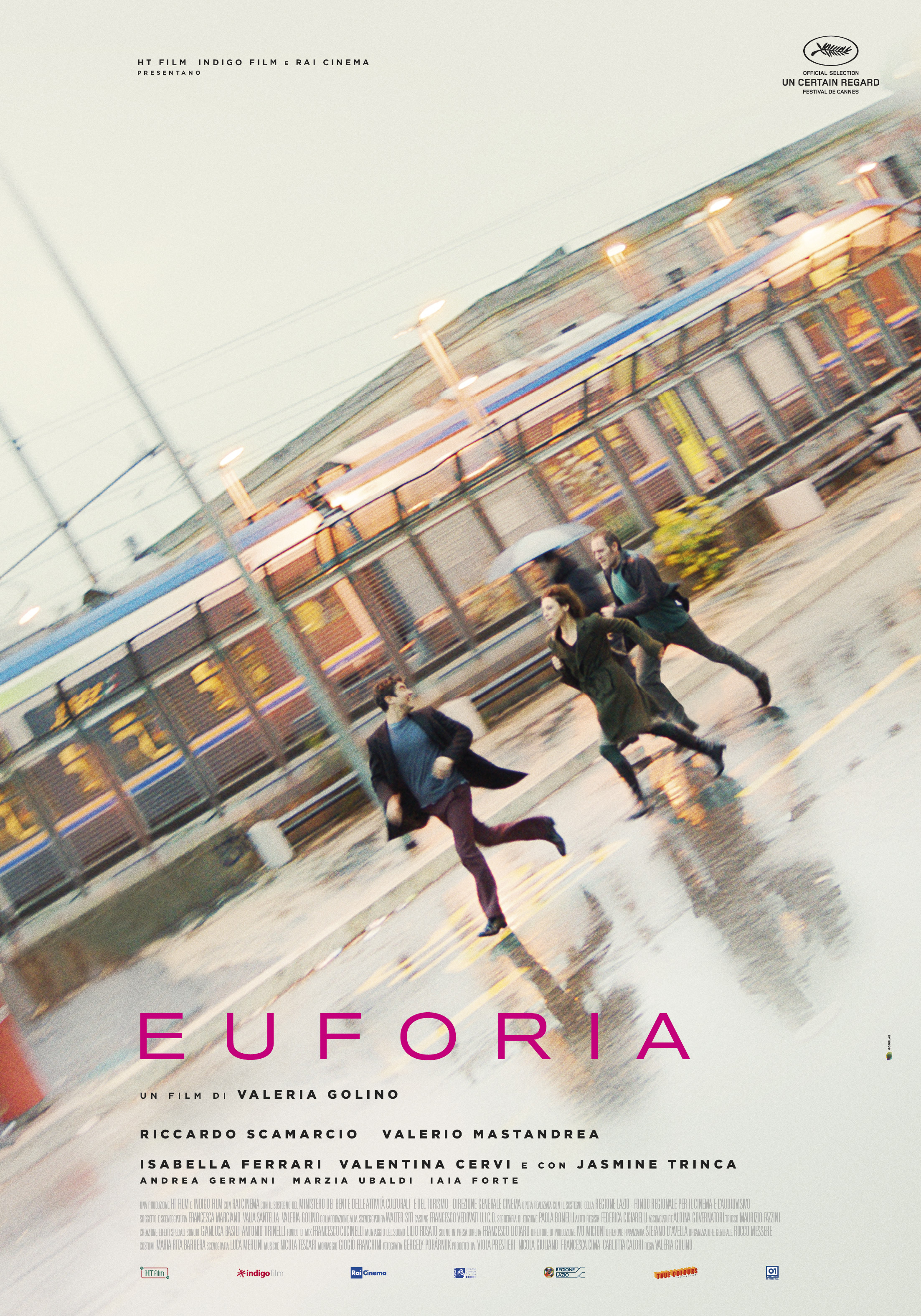 Cannes 71 - Il manifesto ufficiale di Euforia, il film di Valeria Golino