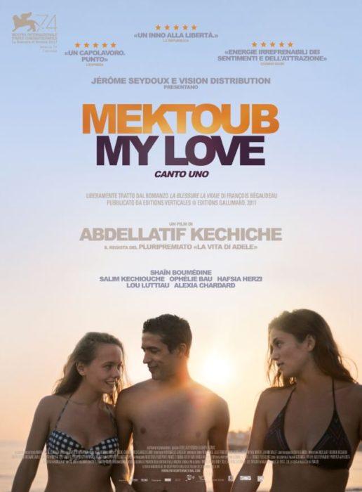 Il poster italiano di Mektoub My Love: Canto Uno, il film di Abdellatif Kechiche