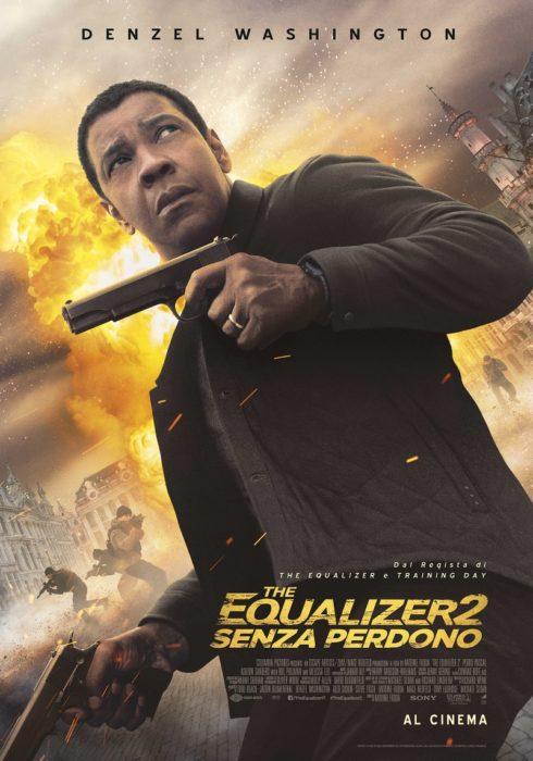 Un Denzel Washington agguerrito nel poster italiano di The Equalizer 2 - Senza Perdono