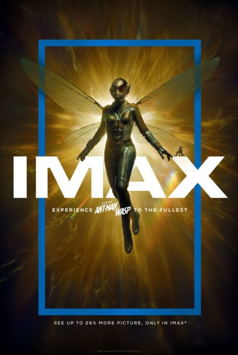 [Ant-Man and the Wasp] Poster IMAX e tante foto dal set