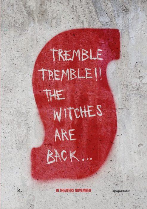 Terribili messaggi nei nuovi poster di Suspiria, l'horror di Luca Guadagnino