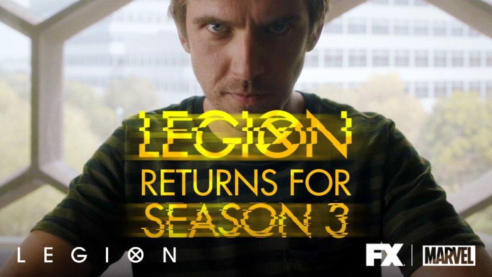 legion terza stagione