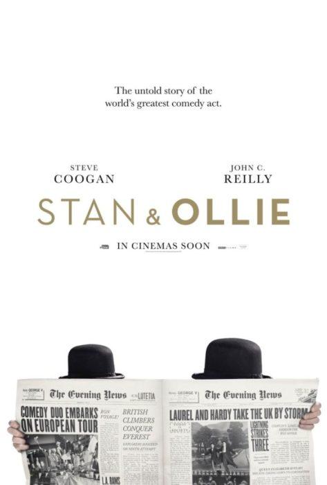 Il teaser poster del biopic Stanlio e Ollio con Steve Coogan e John C. Reilly