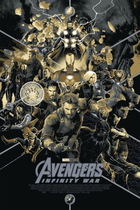 [SDCC18] Un fantastico poster Mondo per Avengers: Infinity War