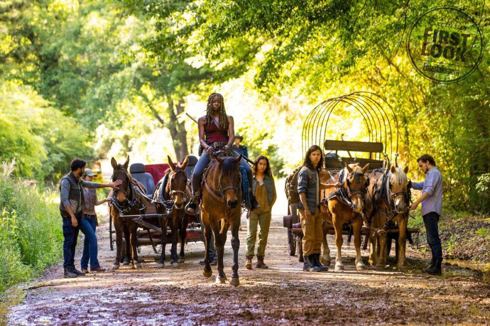 Foto e nuove dettagli dalla nona stagione di The Walking Dead