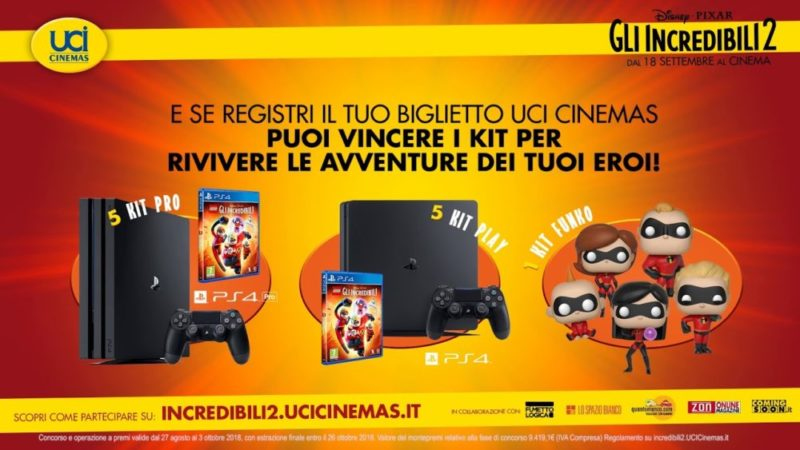 GLI INCREDIBILI 2 UCI CINEMAS