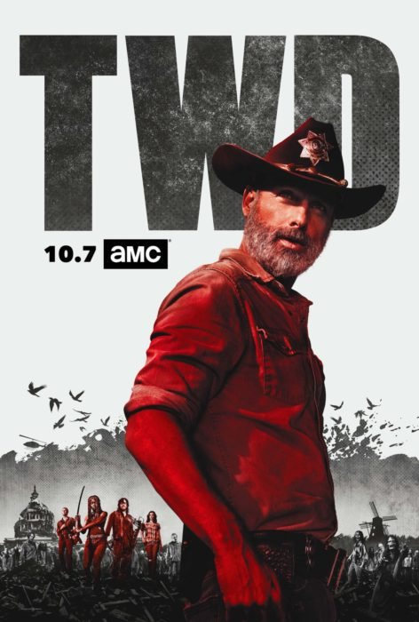 THE WALKING DEAD 9 POSTER