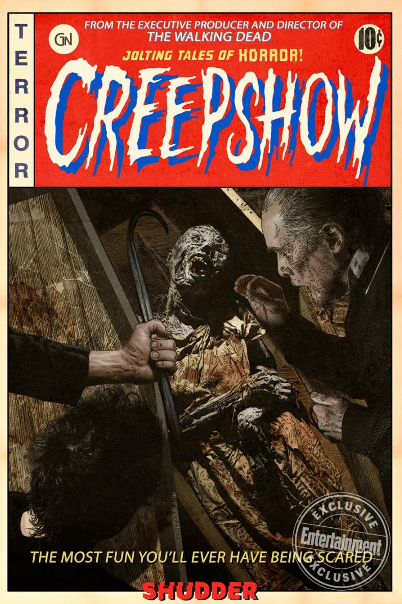 Il poster di Creepshow, la serie horror di Greg Nicotero
