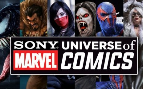 sony universe marvel of characters