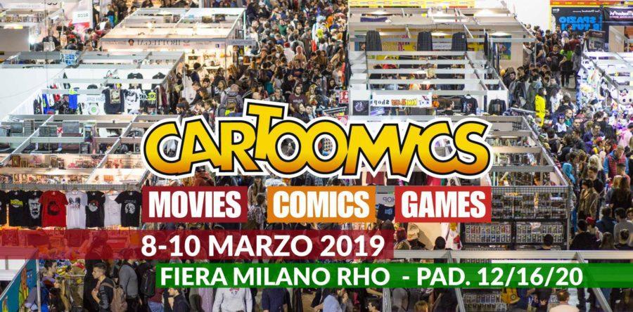 Cartoomics 2019 - La 26a edizione col meglio della cultura pop