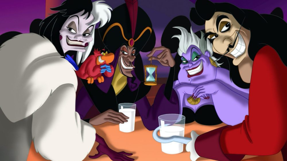 disney villains serie