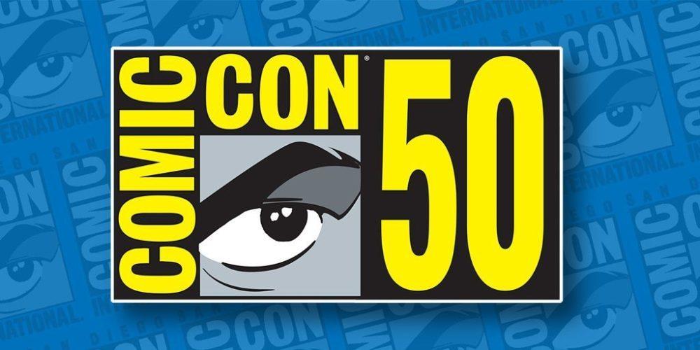 san diego comic con 50 logo