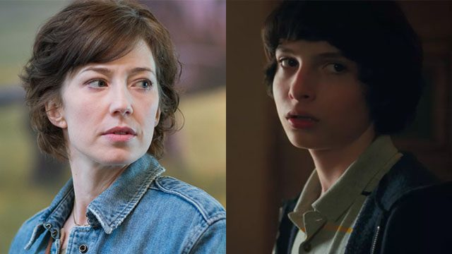 Carrie Coon and Finn Wolfhard