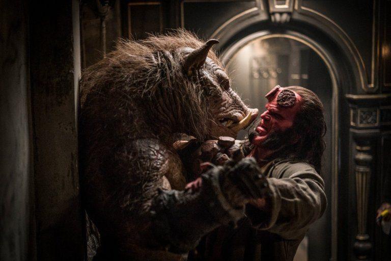 Tutti i protagonisti di Hellboy nel nuovo poster IMAX