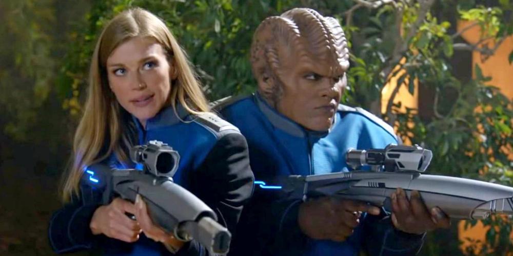 Recensione di Sanctuary, il 12° episodio di The Orville 2, diretto da Jonathan Frakes
