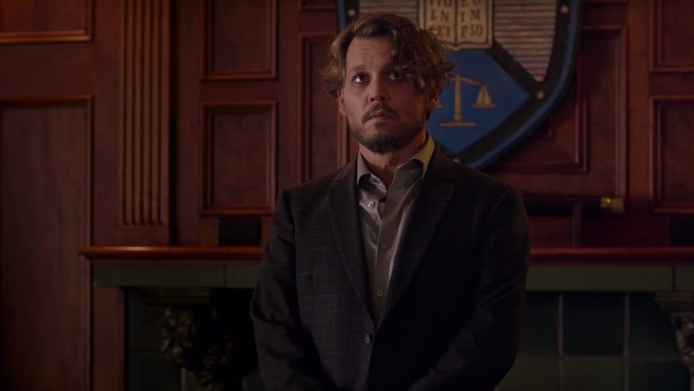 Johnny Depp è un malato terminale nel trailer di The Professor