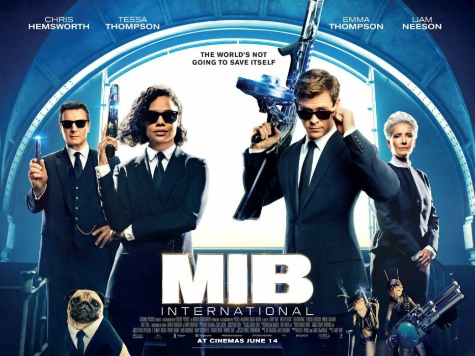 Men in Black International banner