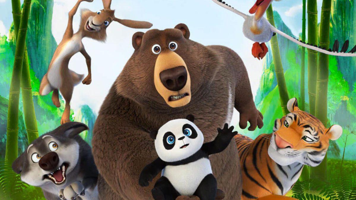 A Spasso col Panda cartoon